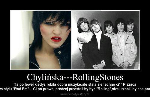 Chylińska---RollingStones