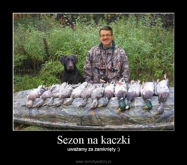 Sezon na kaczki – uważamy za zamknięty :)