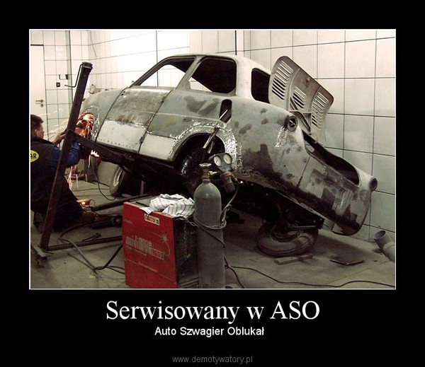 Serwisowany w ASO – Auto Szwagier Oblukał