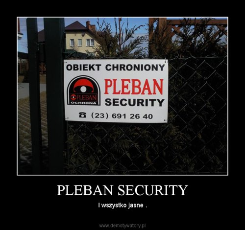 PLEBAN SECURITY