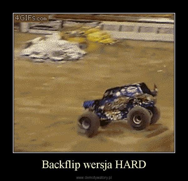 Backflip wersja HARD –