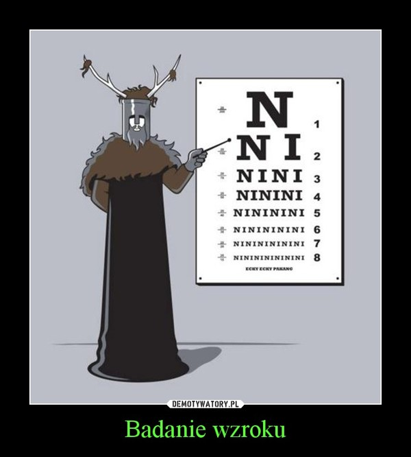 Badanie wzroku –