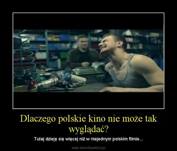 Dlaczego polskie kino nie może tak wyglądać? – Tutaj dzieję się więcej niż w niejednym polskim filmie...