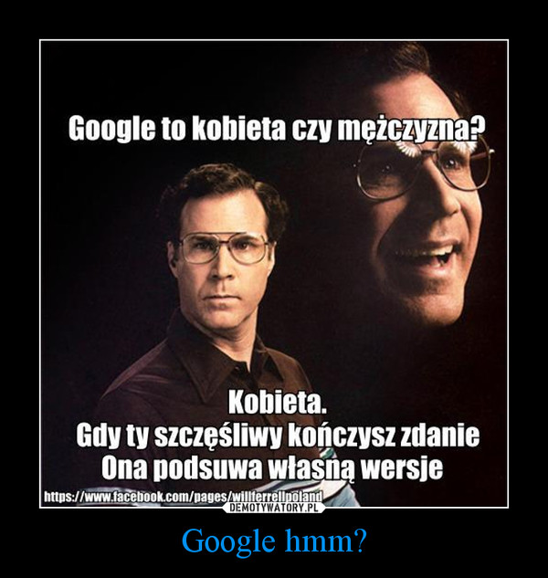 Google hmm? –