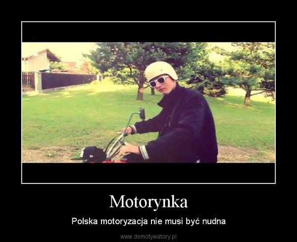 Motorynka – Polska motoryzacja nie musi być nudna