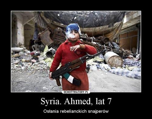 Syria. Ahmed, lat 7