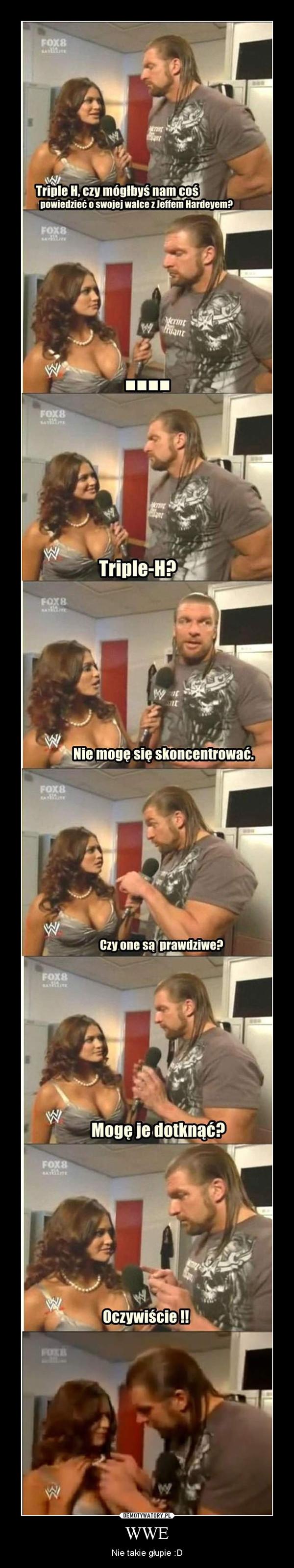 WWE – Nie takie głupie :D