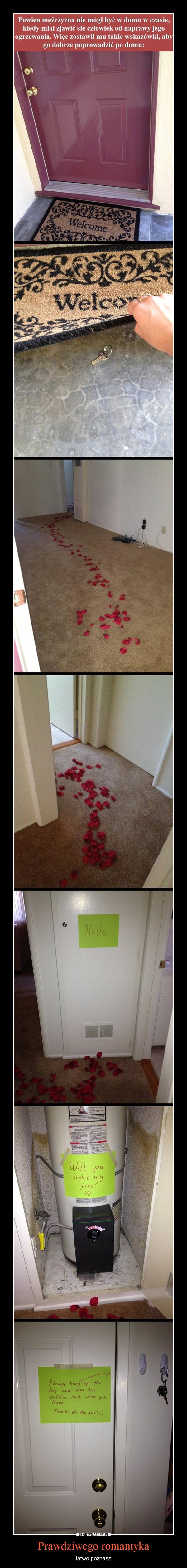 Prawdziwego romantyka – łatwo poznasz