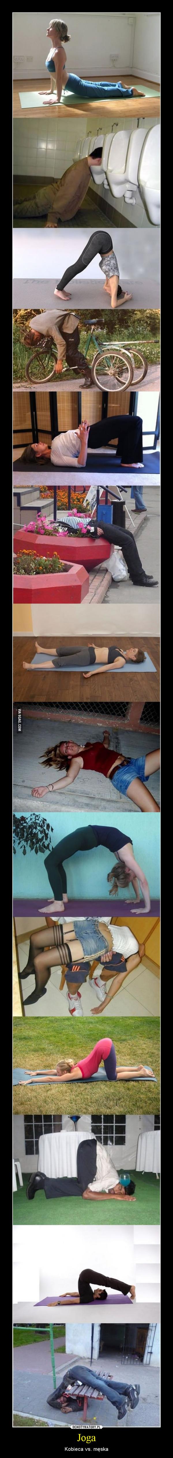 Joga – Kobieca vs. męska