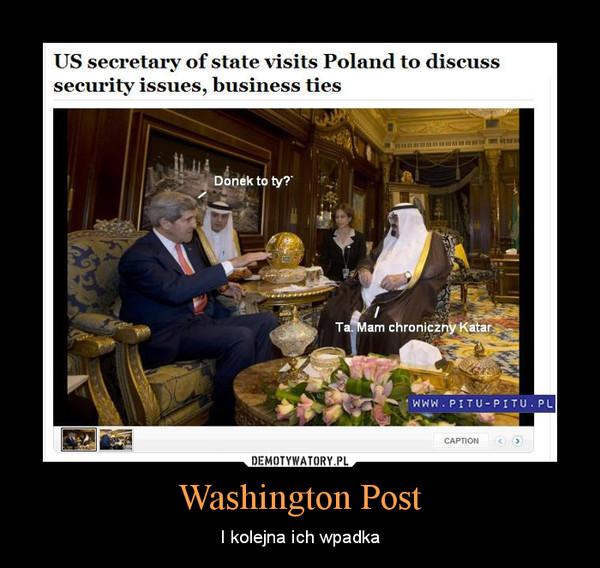 Washington Post – I kolejna ich wpadka