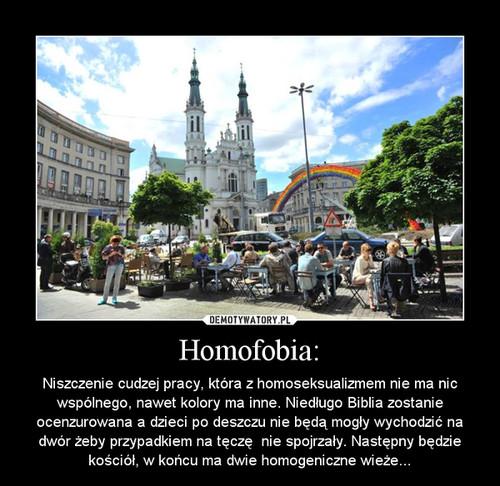 Homofobia: