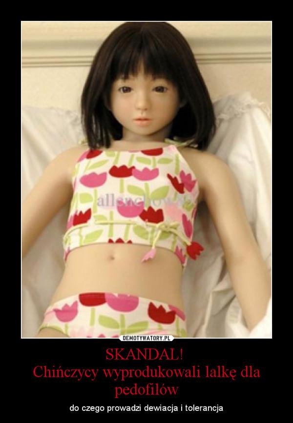 SKANDAL! Chińczycy wyprodukowali lalkę dla pedofilów – do czego prowadzi dewiacja i tolerancja