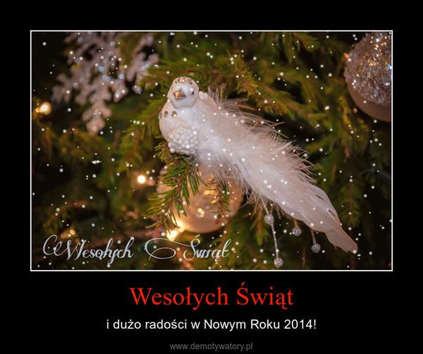 Wesołych Świąt – i dużo radości w Nowym Roku 2014!