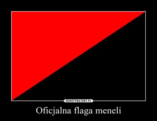 Oficjalna flaga meneli –