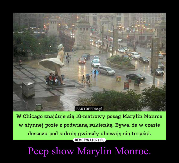 Peep show Marylin Monroe. –