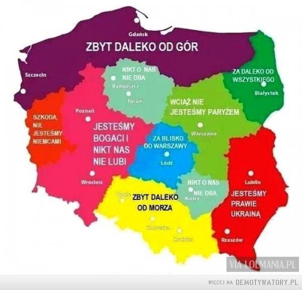 Mapa niezadowolenia Polaków –