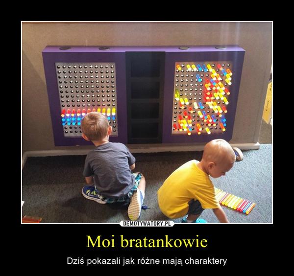 Moi bratankowie – Dziś pokazali jak różne mają charaktery