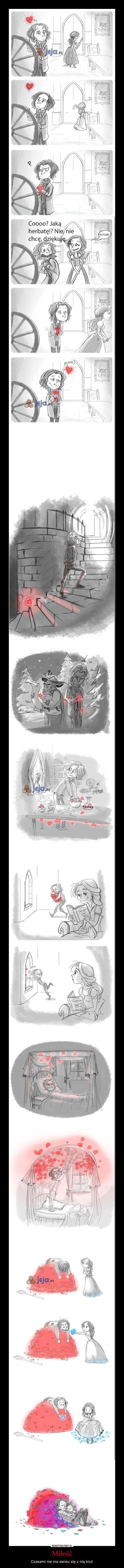Miłość – Czasami nie ma sensu się z nią kryć