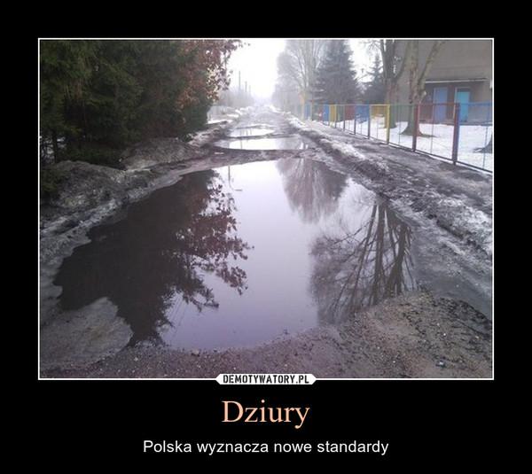 Dziury – Polska wyznacza nowe standardy