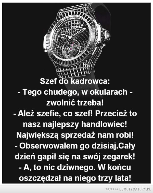 Czas jest cenniejszy na drogim ... –