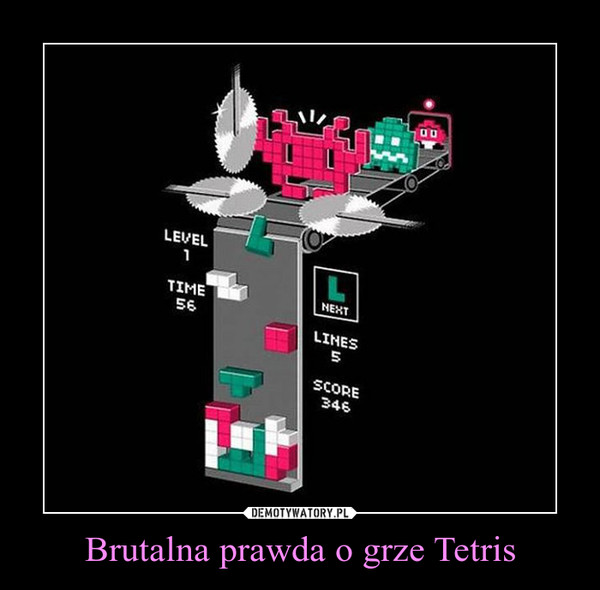 Brutalna prawda o grze Tetris –