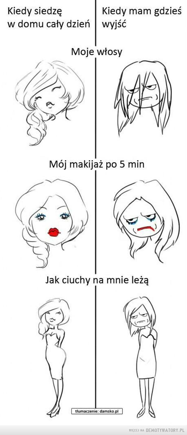 Kobiece problemy dnia codziennego –