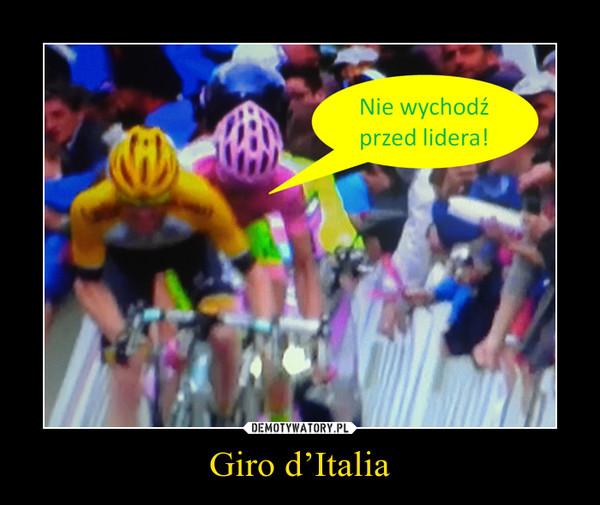 Giro d'Italia –