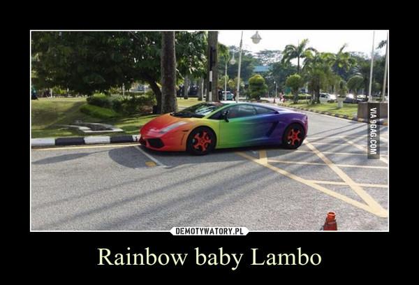 Rainbow baby Lambo –