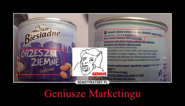 Geniusze Marketingu –