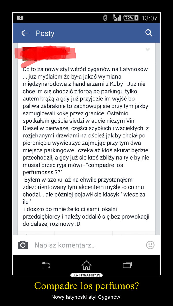 Compadre los perfumos? – Nowy latynoski styl Cyganów!