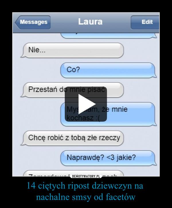 14 ciętych ripost dziewczyn na nachalne smsy od facetów –