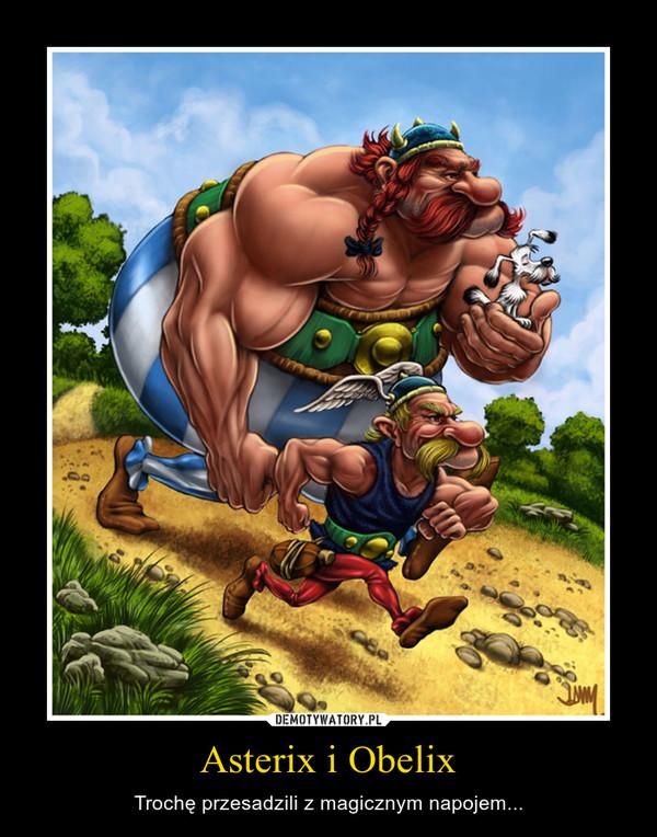 Asterix i Obelix – Trochę przesadzili z magicznym napojem...