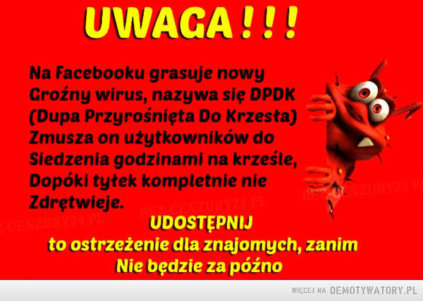 Uwaga! –
