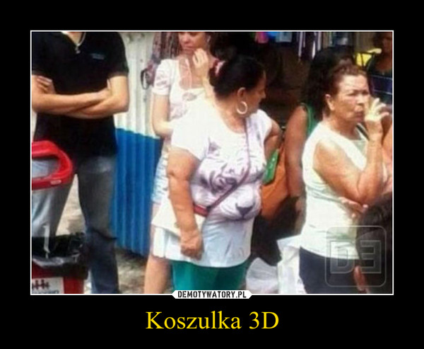 Koszulka 3D –