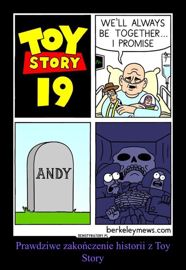 Prawdziwe zakończenie historii z Toy Story –