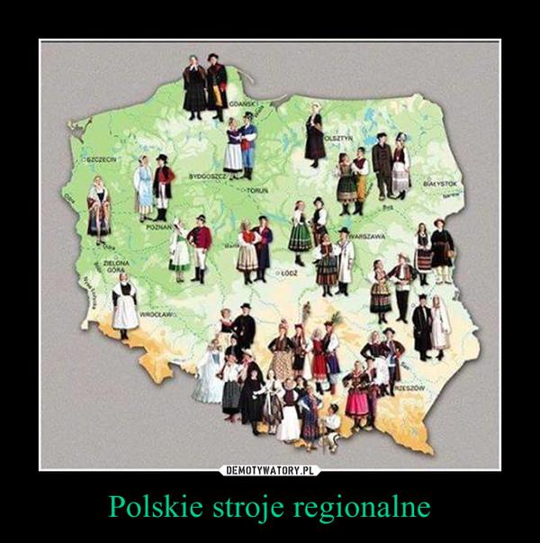 Polskie stroje regionalne –