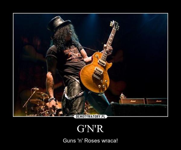 G'N'R – Guns 'n' Roses wraca!