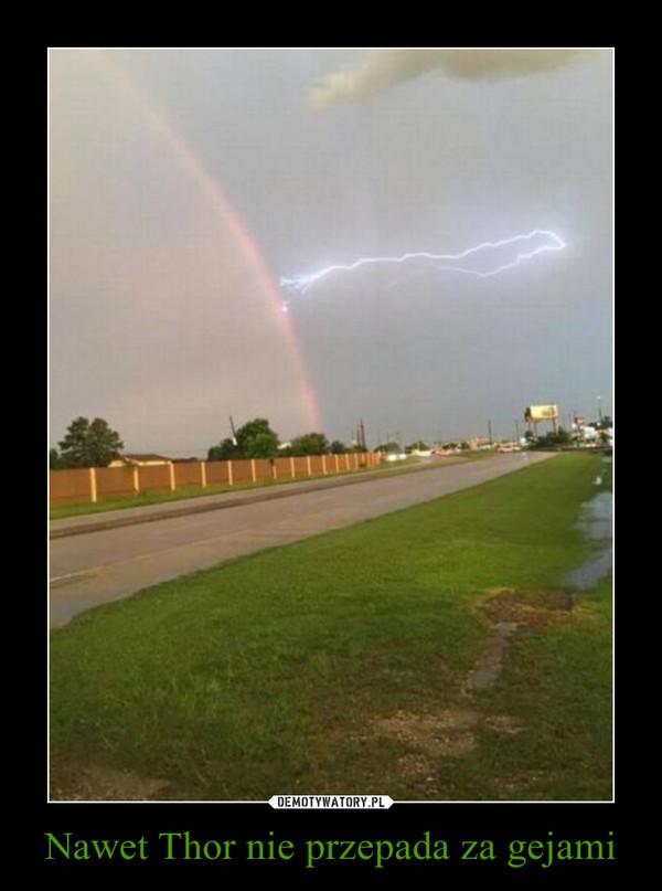 Nawet Thor nie przepada za gejami –