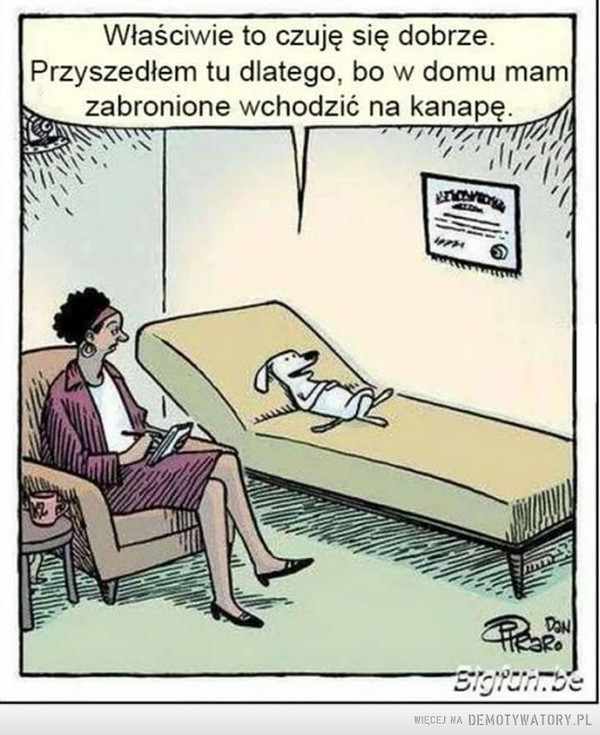 U psychoanalityka –