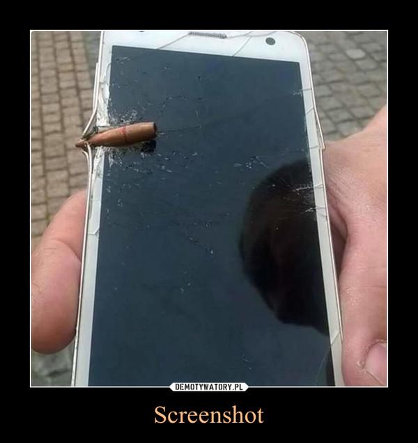 Screenshot –