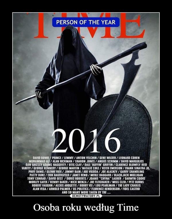 Osoba roku według Time –