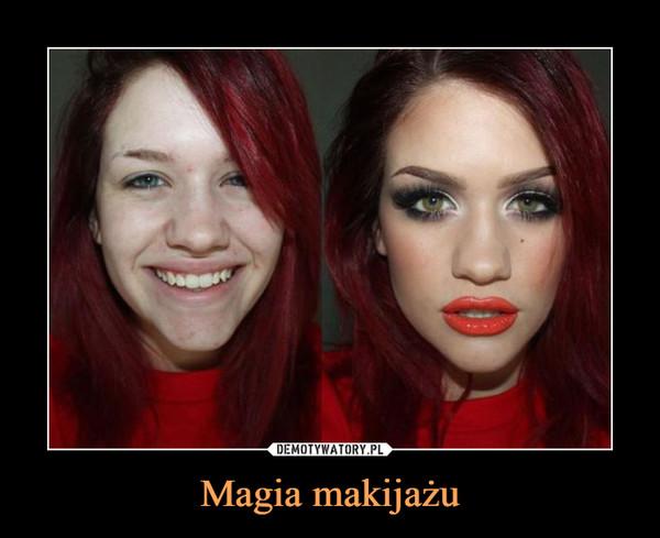 Magia makijażu –