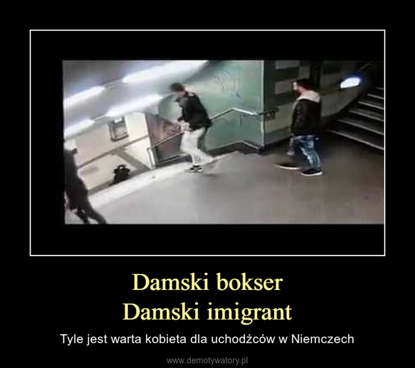 Damski bokserDamski imigrant – Tyle jest warta kobieta dla uchodźców w Niemczech