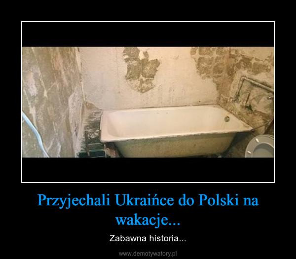 Przyjechali Ukraińce do Polski na wakacje... – Zabawna historia...
