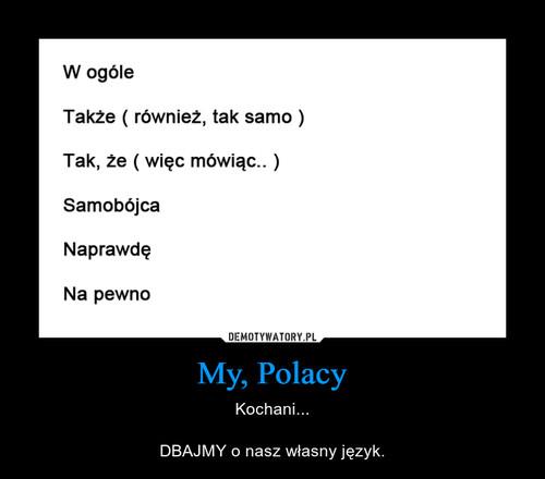 My, Polacy