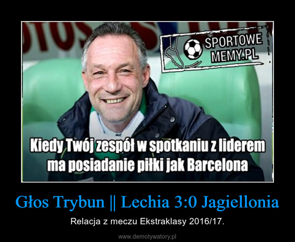 Głos Trybun || Lechia 3:0 Jagiellonia – Relacja z meczu Ekstraklasy 2016/17.