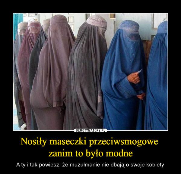 Nosiły maseczki przeciwsmogowe zanim to było modne – A ty i tak powiesz, że muzułmanie nie dbają o swoje kobiety