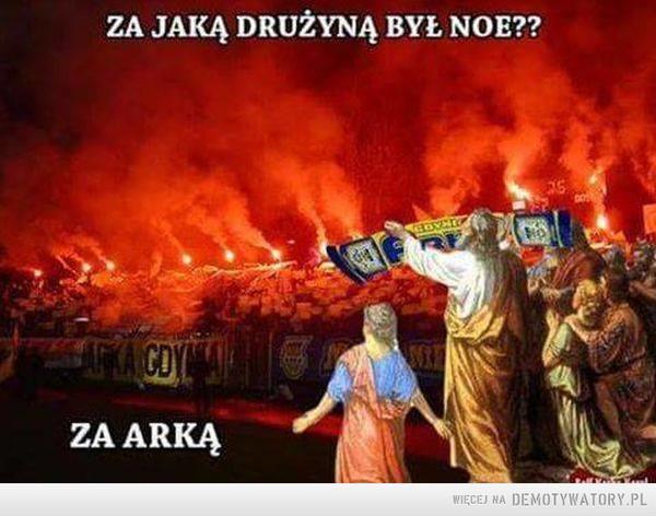 Śmieszy w Gdańsku –  ZA JAKĄ DRUŻYNĄ BYŁ NOE??ZA ARKĄ