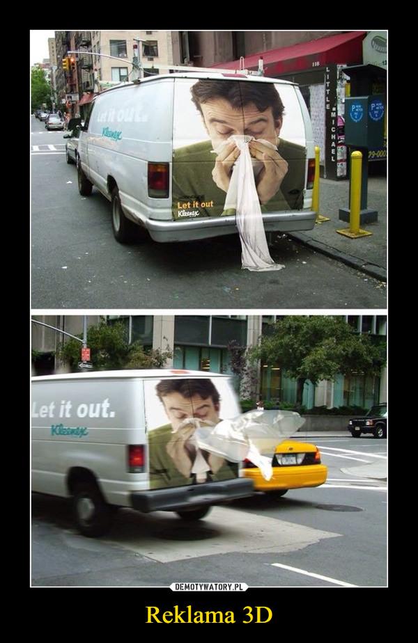 Reklama 3D –