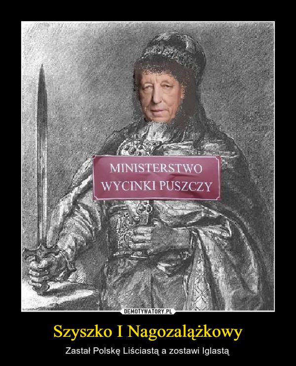 Szyszko I Nagozalążkowy – Zastał Polskę Liściastą a zostawi Iglastą
